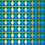 Prosty rytmiczny geometryczny wzór Zdjęcie Royalty Free