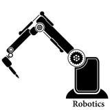 Prosty set robot Odnosić sie Kreskowe ikony Zawiera taki ikony jak autopilota, Chatbot, Łamająca larwa i bardziej Editable uderze Obrazy Stock