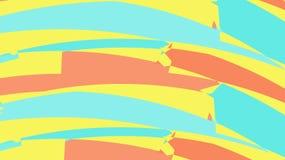 Prosty tło od minimalistic pstrobarwnego magicznego stubarwnego abstrakta różnych chaotycznych jaskrawych trójboków linie fala s ilustracja wektor