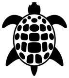 Prosty tatuaż żółw Fotografia Stock
