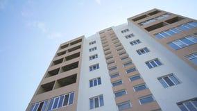 Prosty up pionowo widok ustanawia strzał rodzajowy biura lub luksus nieruchomości budynku mieszkaniowego DX dnia czas zbiory wideo