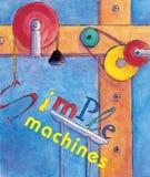prostych maszyn royalty ilustracja