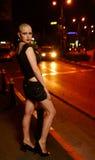 prostytutki łysa ulica zdjęcie stock