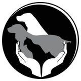 Protégez l'animal Photo libre de droits