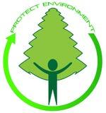 Protégez l'environnement illustration stock