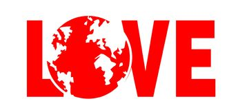 Protégez la terre Image libre de droits