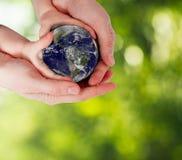 Protégez la terre, notre planète Photos libres de droits