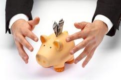 Protégez votre épargne Image stock