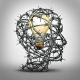 protégez votre idée illustration stock