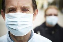 Protégez-vous (la protection de grippe) Photo libre de droits