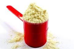 Protéine de vanille photographie stock libre de droits