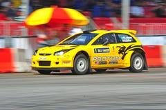 Protón R3 del coche de Rallye Foto de archivo