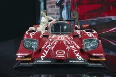 Protótipo de Mazda SKYACTIV-D Foto de Stock