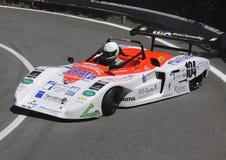 Protótipo do carro durante uma raça da velocidade Imagens de Stock Royalty Free