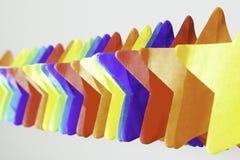 Protagoniza el partido extensible colorido Fotografía de archivo