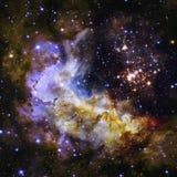Protagoniza la nebulosa en espacio Imágenes de archivo libres de regalías
