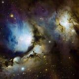 Protagoniza la nebulosa en espacio Fotos de archivo