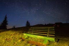 Protagoniza nas montanhas Carpathian Foto de Stock Royalty Free