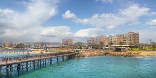 Protaras Кипр Стоковое Фото