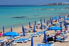 Protaras, Cipro Immagini Stock Libere da Diritti