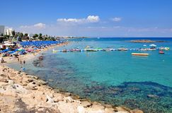 Protaras, Cyprus Stock Photo
