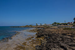 Protaras-Küstenlinie Stockfotos