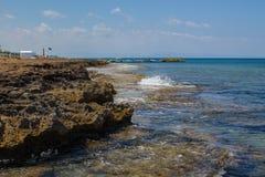 Protaras-Küstenlinie Lizenzfreies Stockbild