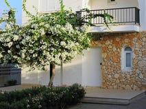 Protaras, turismo, centro turístico, hotel, playa, viaje, Chipre Foto de archivo libre de regalías