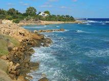 Protaras, turismo, centro turístico, hotel, playa, viaje, Chipre Imagen de archivo