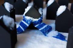 Proteção contra o frio Imagem de Stock