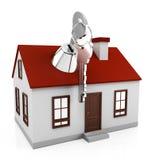 Proteção da casa Fotos de Stock
