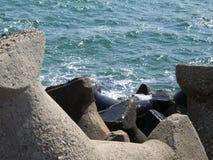 Proteção da praia Imagens de Stock