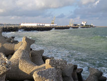 Proteção da praia Imagem de Stock