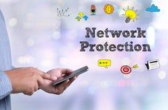 Proteção da rede Imagem de Stock