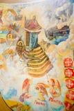 Proteção da Virgem Santa no teto fotos de stock royalty free