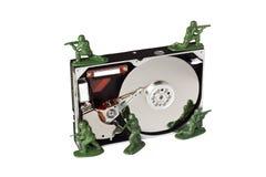 Proteção de dados Fotografia de Stock