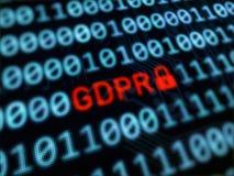 Proteção de dados pessoal GDPR Fotos de Stock