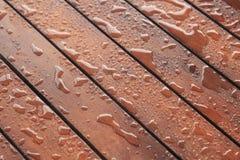 Proteção de madeira, fundo da construção Imagem de Stock