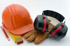 Proteção de saúde e de segurança no workplace-2 Fotografia de Stock