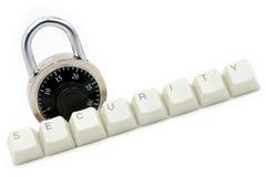 Proteção de segurança do computador fotografia de stock royalty free