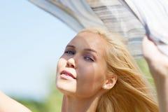 Proteção de Sun Imagens de Stock