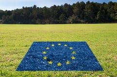 Proteção do ambiente em UE Fotografia de Stock
