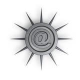 Proteção do email Imagens de Stock