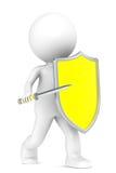 Proteção do vírus Foto de Stock Royalty Free