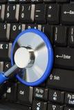 Proteção do viruse do computador imagem de stock royalty free