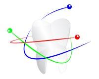 Proteção dos dentes Fotografia de Stock