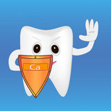 Proteção dos dentes Fotografia de Stock Royalty Free