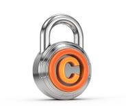 Proteção dos direitos reservados Imagens de Stock Royalty Free