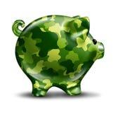 Proteção financeira da defesa ilustração royalty free