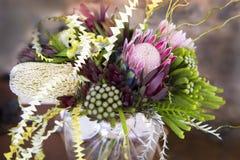 Protea bouquet Stock Image
